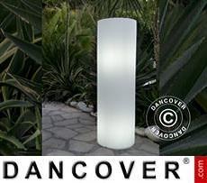 Decoración lumínica Alty, 35x35x110cm, Blanco