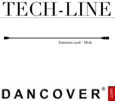 Cable de extensión sin enchufe, Tech-Line, 10m