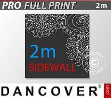 Muro lateral impreso de 2m para FleXtents PRO