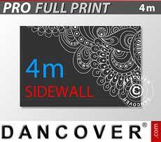 Muro lateral impreso de 4m para FleXtents PRO