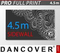 Muro lateral impreso de 4,5m para FleXtents PRO