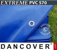 Lona impermeable 10x12m, PVC 570g/m², Azul
