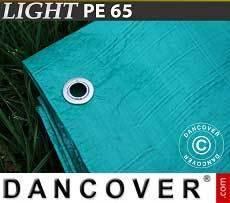 Lona impermeable 5x6m, PVC 570g/m², Verde