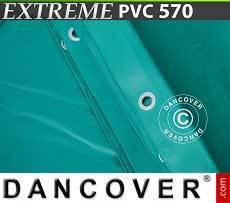 Lona impermeable 6x12m, PVC 500g/m², Verde