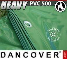 Lona impermeable 4x6m, PVC 500 g/m², Verde