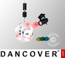 Bola de discoteca, incluye foco