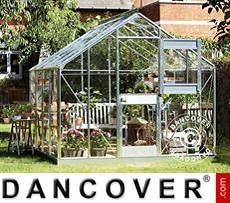 Invernadero jardín policarbonato Juliana Junior 8,3m², 2,77x2,98x2,57 m,...