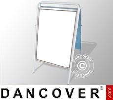Cavalletto pubblicitario, 68x114cm, Bianco