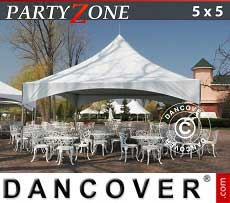 Tendoni Gazebi Party PartyZone 5x5 m PVC