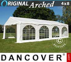 Tendoni Gazebi Party Original 4x8m PVC,
