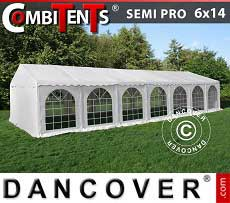 Tendoni Gazebi Party, SEMI PRO Plus CombiTents® 6x14m, 5 in 1