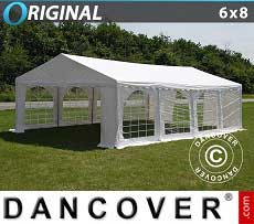 Tendoni Gazebi Party Original 6x8m PVC, Bianco