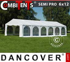 Tendoni Gazebi Party, SEMI PRO Plus CombiTents® 6x12m, 4 in 1