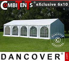Tendoni Gazebi Party, Exclusive CombiTents® 6x10m, 3 in 1