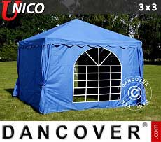 Tendoni Gazebi Party UNICO 3x3m, Blu