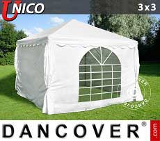 Tendoni Gazebi Party UNICO 3x3m, Bianco