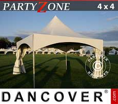 Tendoni Gazebi Party PartyZone 4x4 m PVC