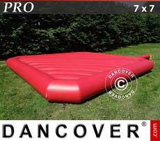 Cuscino gonfiabile 7x7m, Rosso, qualità per il noleggio