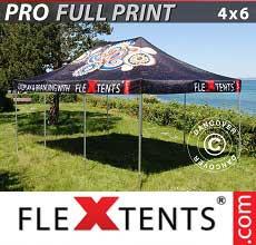 Tenda per racing PRO con completa stampa digitale, 4x6m
