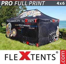 Tenda per racing PRO con completa stampa digitale, 4x6m, incl. 4…