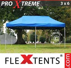 Tenda per racing Xtreme 3x6m Blu