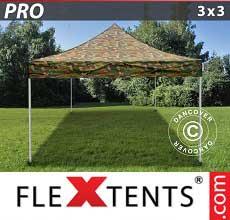 Tenda per racing PRO 3x3m Camouflage