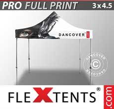 Tenda per racing PRO con completa stampa digitale, 3x4,5m