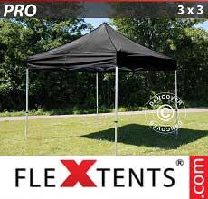 Tenda per racing PRO 3x3m Nero