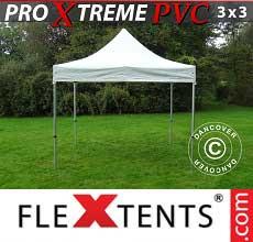 Tenda per racing Xtreme Heavy Duty 3x3m, Bianco