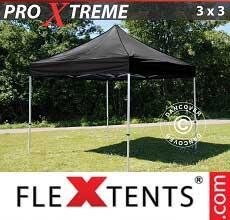 Tenda per racing Xtreme 3x3m Nero