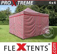 Tenda per racing Xtreme 4x4m Rigato, incl. 4 fianchi