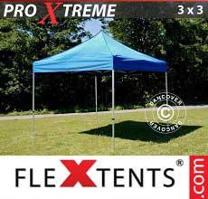 Tenda per racing Xtreme 3x3m Blu