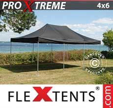 Tenda per racing Xtreme 4x6m Nero