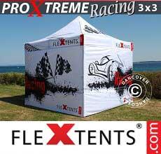 Gazebo pieghevole  PRO Xtreme Racing 3x3m, edizione limitata