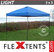 Gazebo pieghevole  Light 3x3m Blu