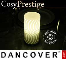 Lampada a LED Zigzag, serie Prestige, Bianco caldo