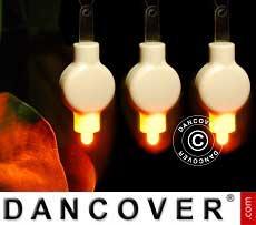 Luci LED per lanterne di carta, 20 pezzi, bianco caldo