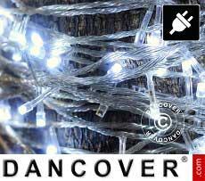 Catena di luci LED, 10m, Multifunzione, Bianco