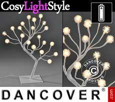 Albero di luci LED, 45cm, luce bianca calda