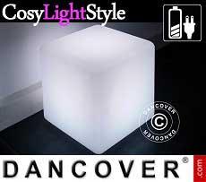 Cubi a luce LED, 40x40cm, multifunzione, multicolore