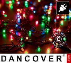 Catena di luci LED, 25m, Multifunzione, Multicolore, Cavo verde