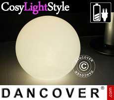 Sfere a luce LED, Ø60cm, multifunzione, multicolore
