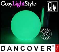 Sfere a luce LED, Ø40cm, multifunzione, multicolore