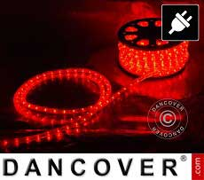 Striscia luminosa a LED 50 m, Ø 1,2cm, Multifunzione, Rosso