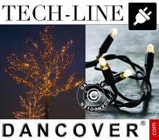 Modulo catena LED Tech-line, 9m, Bianco caldo