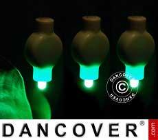 Luci LED per lanterne di carta, 20 pezzi, verde