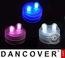 LED Floralytes (30 pezzi), DIA3cm, Colori Misti