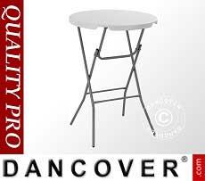 Tavolo bar rotondo Ø 80cm, Grigio chiaro