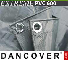 Telo 6x10m PVC 600g/m² Grigio
