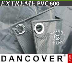 Telo 5x7m PVC 600g/m² Grigio